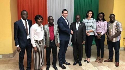 Assemblée Nationale rencontre avec le Vice President Oula Privat